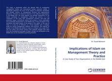Portada del libro de Implications of Islam on Management Theory and Practice