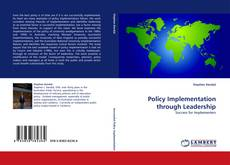 Capa do livro de Policy Implementation through Leadership