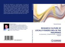 Bookcover of RESEARCH CULTURE OF LOCALLY-FUNDED HEIs IN THE PHILIPPINES