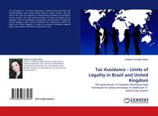 Capa do livro de Tax Avoidance - Limits of Legality in Brazil and United Kingdom