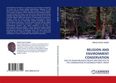 Bookcover of RELIGION AND ENVIRONMENT CONSERVATION