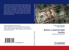 Buchcover von Bolivia´s external debt burden