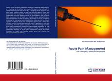 Bookcover of Acute Pain Management