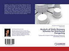 Bookcover of Analysis of Static Recovery Schemes for Distributed Computing