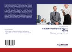 Portada del libro de Educational Psychology: A Revisit