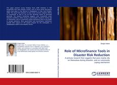Bookcover of Role of Microfinance Tools in Disaster Risk Reduction