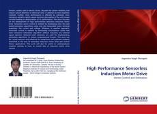 Capa do livro de High Performance Sensorless Induction Motor Drive