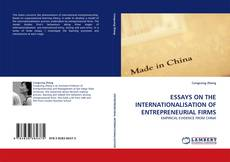 Couverture de ESSAYS ON THE INTERNATIONALISATION OF ENTREPRENEURIAL FIRMS