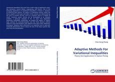Buchcover von Adaptive Methods For Variational Inequalities