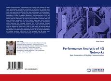 Bookcover of Performance Analysis of 4G Networks
