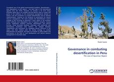 Copertina di Governance in combating desertification in Peru