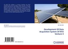 Bookcover of Development Of Data Acquisition System Of NTU Venture II