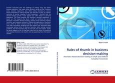 Bookcover of Rules of thumb in business decision-making