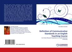 Borítókép a  Definition of Communicative Standards in an English Teaching Course - hoz