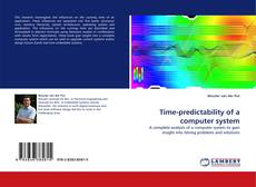Bookcover of Time-predictability of a computer system