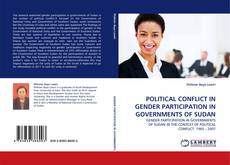 Bookcover of POLITICAL CONFLICT IN GENDER PARTICIPATION IN GOVERNMENTS OF SUDAN