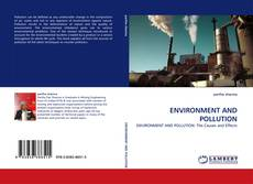 Couverture de ENVIRONMENT AND POLLUTION