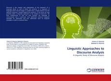 Обложка Linguistic Approaches to Discourse Analysis