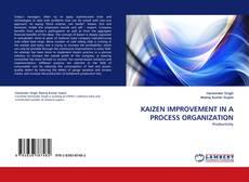 Copertina di KAIZEN IMPROVEMENT IN A PROCESS ORGANIZATION