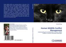 Bookcover of Human Wildlife Conflict Management