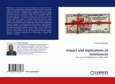 Couverture de Impact and implications of remittances