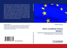 Bookcover of Does Candidate Status Matter?