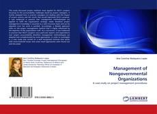Couverture de Management of Nongovernmental Organizations