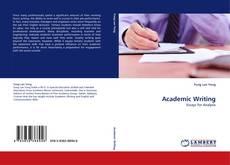 Academic Writing kitap kapağı