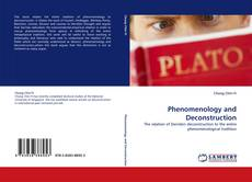 Bookcover of Phenomenology and Deconstruction