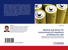 Capa do livro de Method and device for measurement of impedance of lithium-ion cells