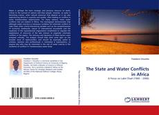 Copertina di The State and Water Conflicts in Africa