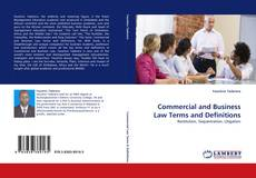 Bookcover of Commercial and Business Law Terms and Definitions
