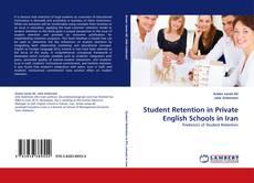 Portada del libro de Student Retention in Private English Schools in Iran