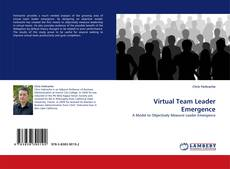 Bookcover of Virtual Team Leader Emergence