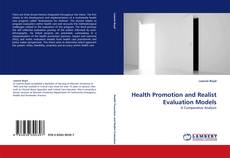 Bookcover of Health Promotion and Realist Evaluation Models