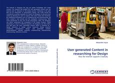 Bookcover of User generated Content in researching for Design