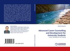 Advanced Career Counselling and Development for University Students的封面
