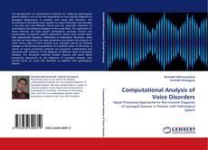Capa do livro de Computational Analysis of Voice Disorders