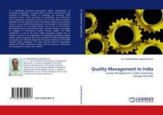 Bookcover of Quality Management in India