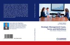 Capa do livro de Strategic Management Cases, Terms and Definitiions