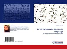 Bookcover of Social Variation in the Creole language