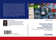 Обложка Electronics Waste Management: An India Perspective