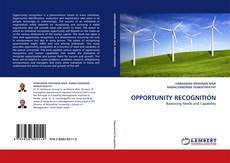 OPPORTUNITY RECOGNITION kitap kapağı