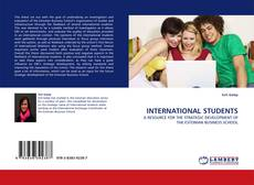 Bookcover of INTERNATIONAL STUDENTS