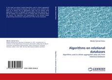 Copertina di Algorithms on relational databases