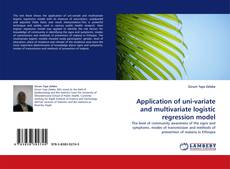 Bookcover of Application of uni-variate and multivariate logistic regression model