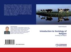Couverture de Introduction to Sociology of Religion
