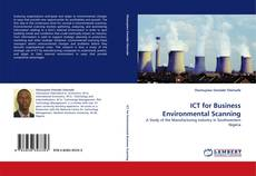 Bookcover of ICT for Business Environmental Scanning