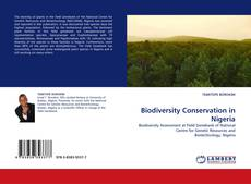 Bookcover of Biodiversity Conservation in Nigeria