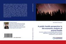 Bookcover of A public health perspective in the economic analysis of animal health